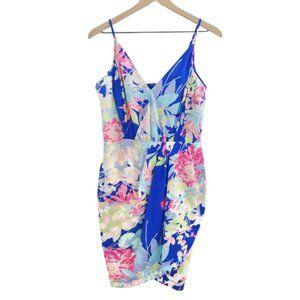 YUMI KIM Tulip Dress in Blue Hawaii Floral XL